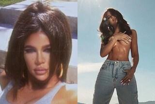 Cosa è successo a Khloe Kardashian? Nelle nuove foto è sempre più irriconoscibile