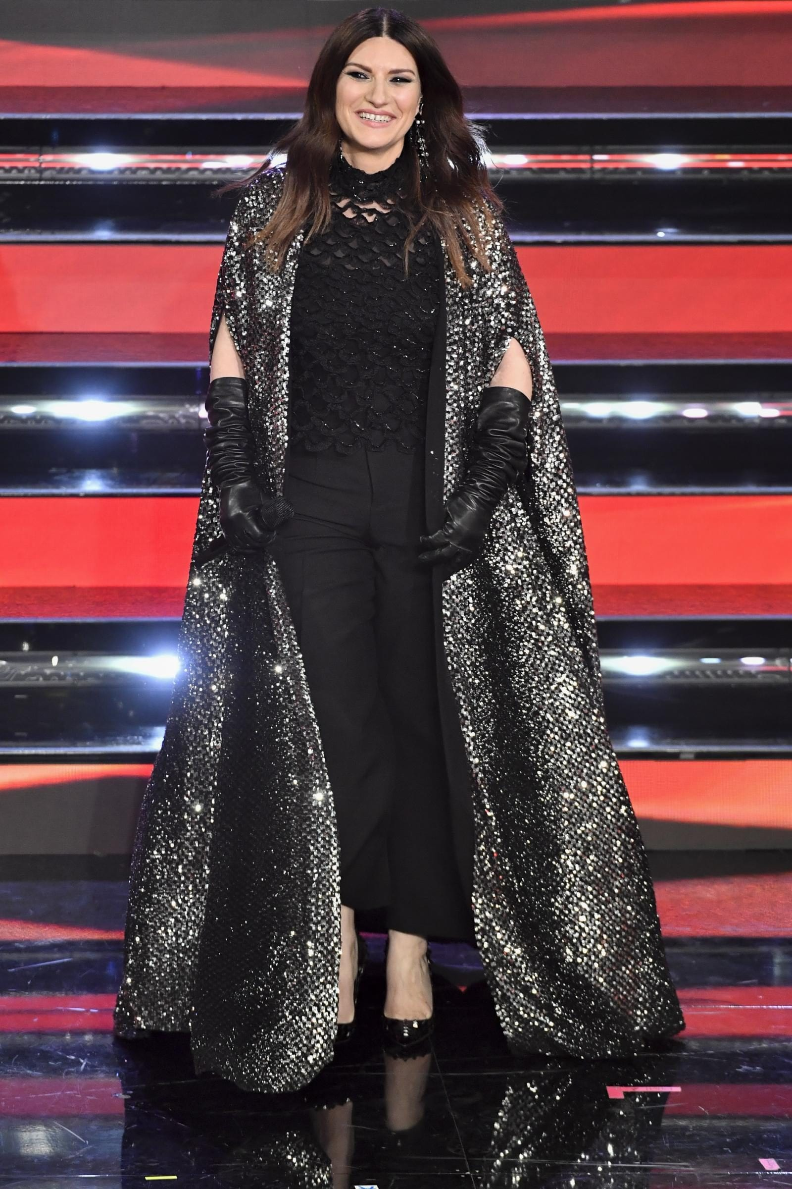Laura Pausini in Valentino, Festival di Sanremo 2021
