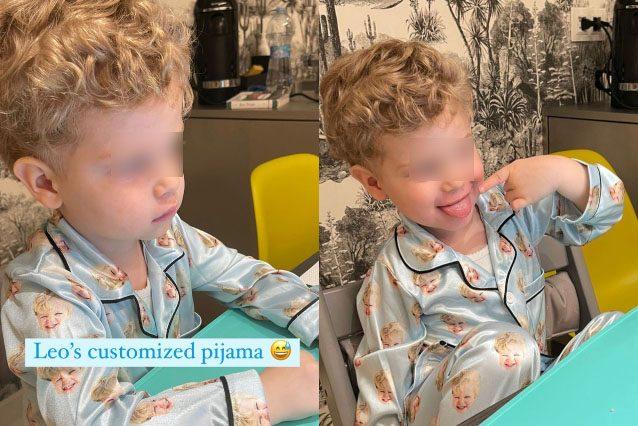 I meme di Leone finiscono sul pigiama