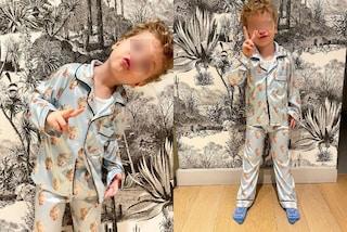 Leone, il nuovo pigiama è personalizzato con le sue foto: il look da notte è più trendy che mai