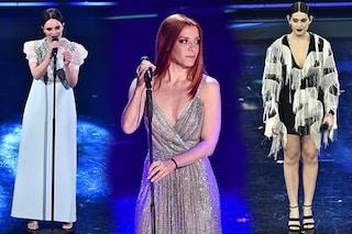 I look di Sanremo 2021, le pagelle della finale: Noemi come una Diva, Michielin principessa è out