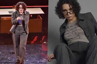 Madame e la poesia sull'incomunicabilità a Sanremo 2021: cosa c'è scritto sulla maglia della rapper