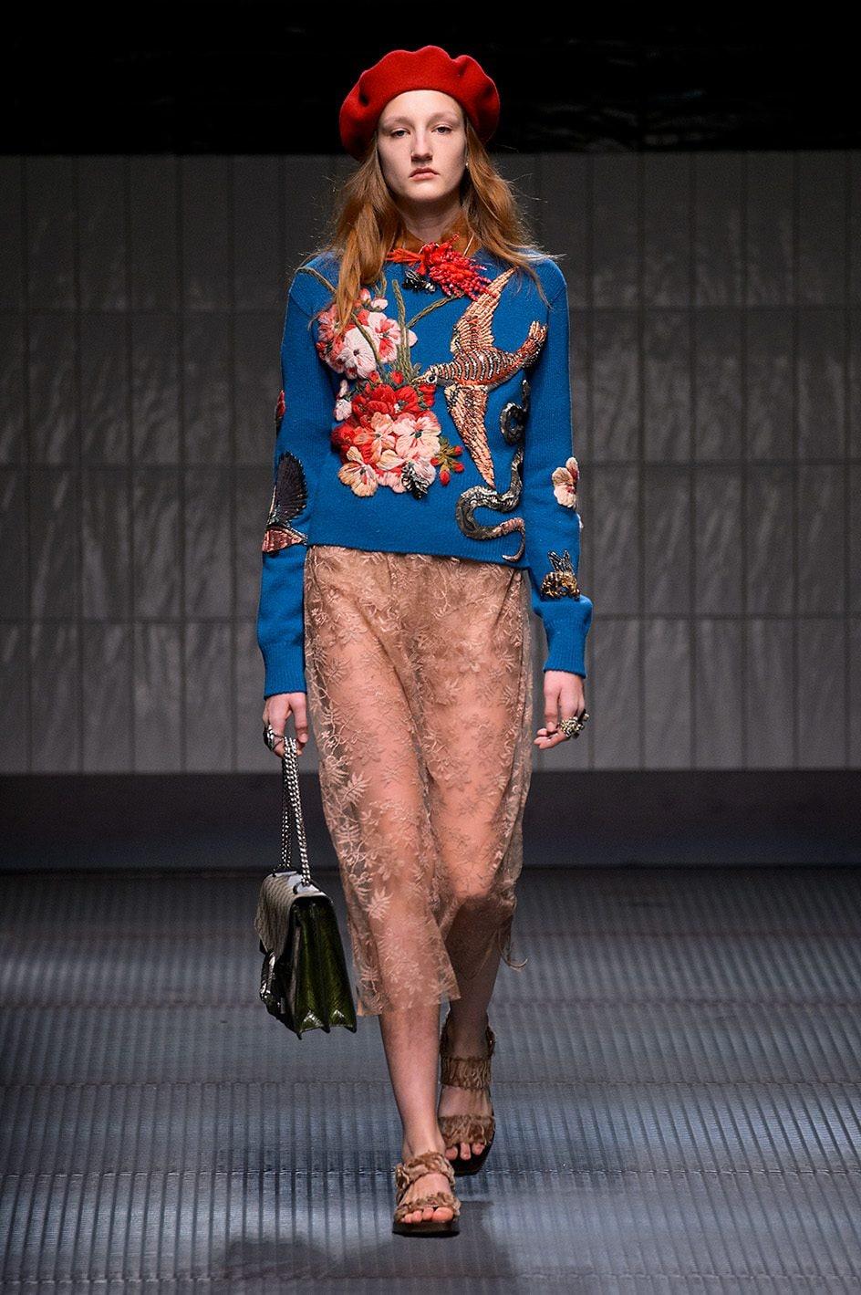 Gucci, collezione A/W 2015–16