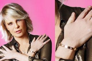 Maria De Filippi, al polso un bracciale da 15mila euro che nasconde un significato