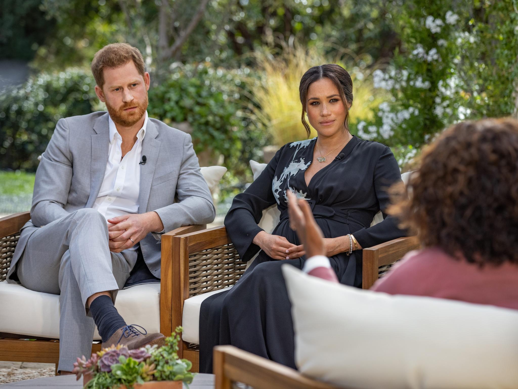 L'intervista della coppia con Oprah Winfrey