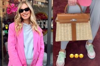 Chiara Ferragni, la nuova borsa di paglia è perfetta per la primavera (e costa oltre 80mila euro)