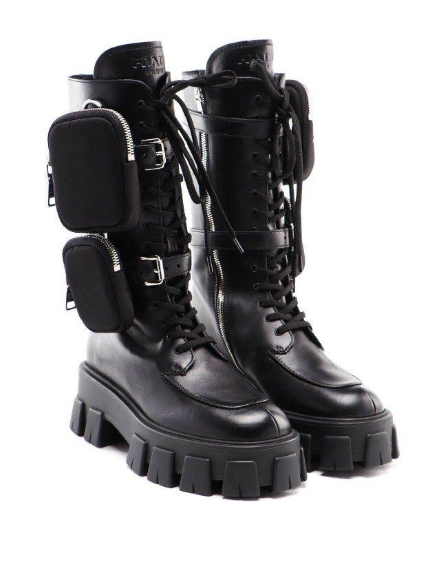 I Monolith Boots di Prada