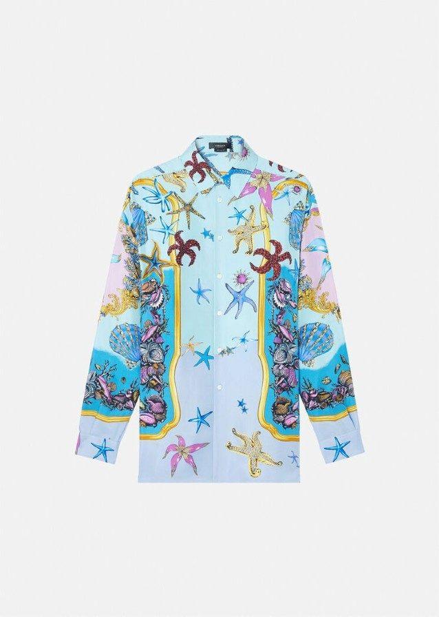 """La camicia """"marina"""" di Versace"""