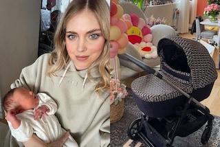 Gli accessori di lusso di Baby Vittoria: ha un peluche griffato e un passeggino da quasi 6mila euro
