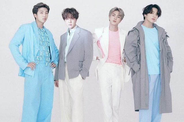 I BTS in Louis Vuitton