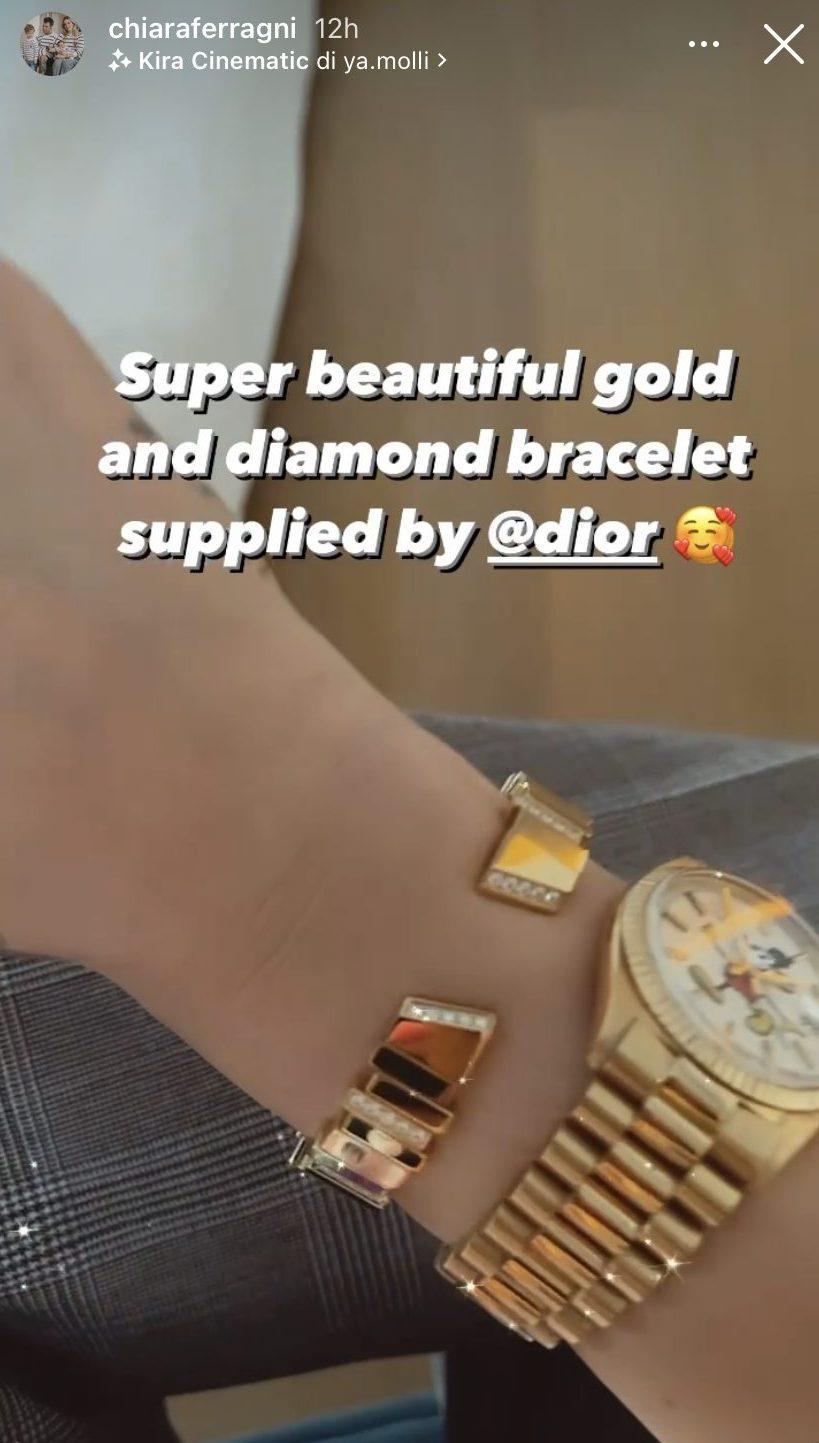 Il bracciale Dior