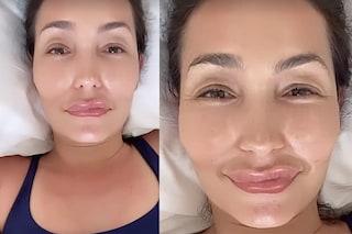 """Caterina Balivo coi filtri si sente un mostro: """"Mi tengo le mie labbra sottili e un po' storte"""""""