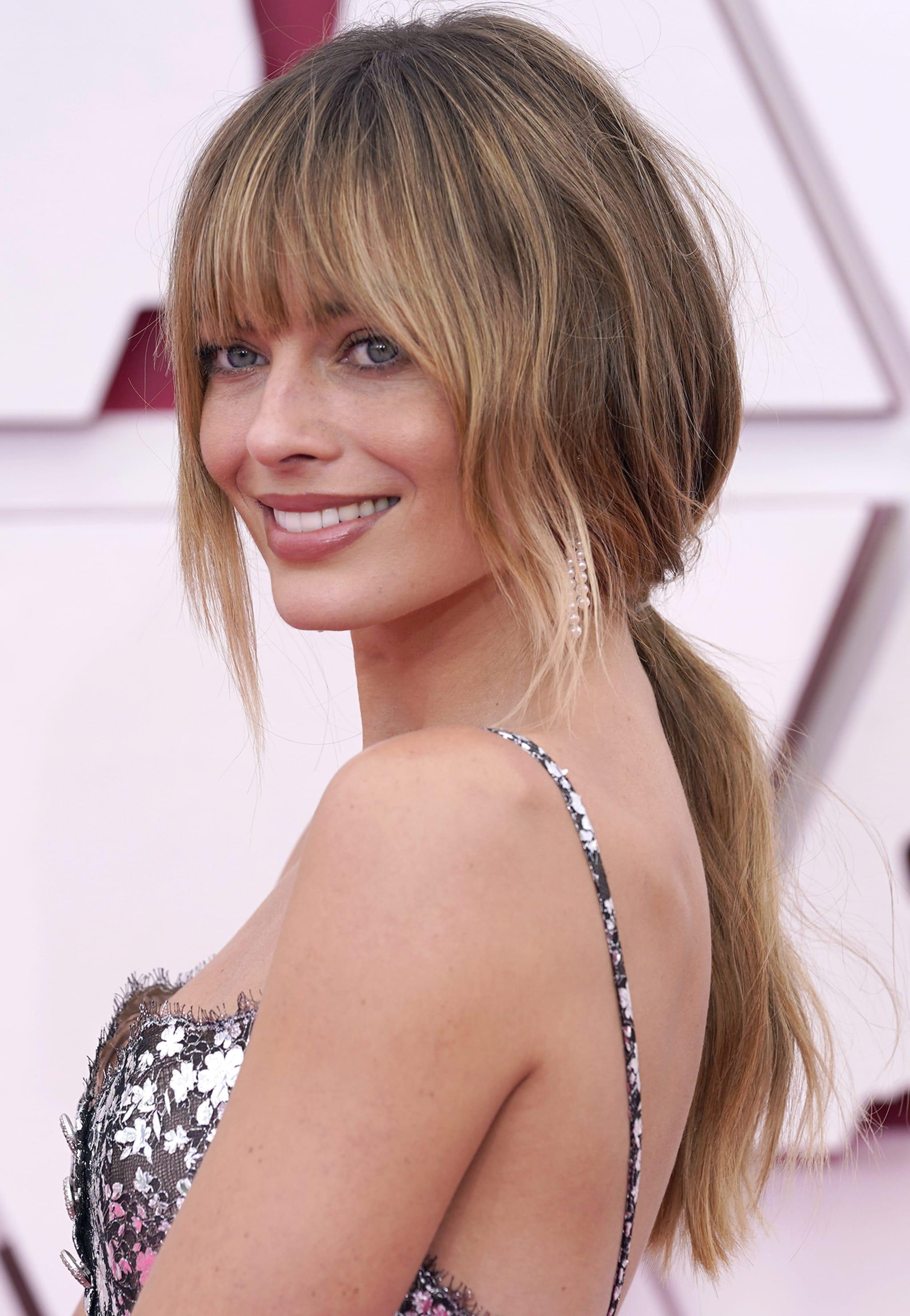 Il nuovo hair look di Margot Robbie