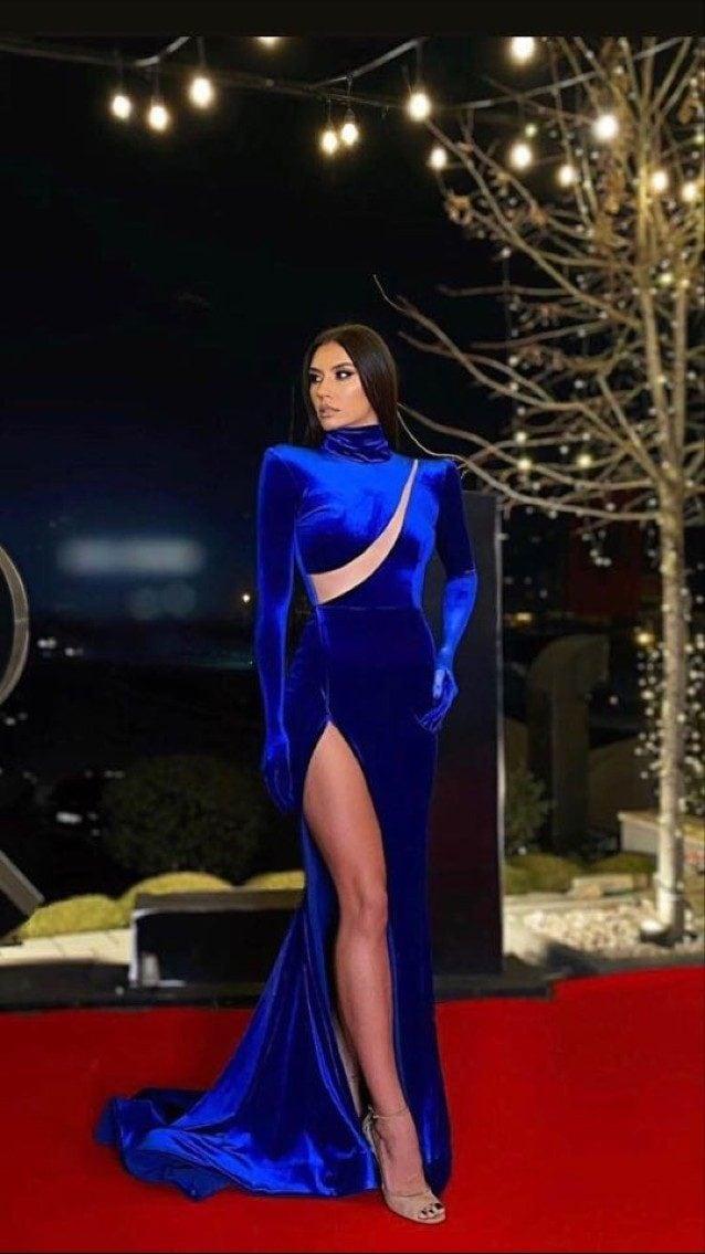 Il vestito di Ilary Blasi per la decima puntata de l'isola dei famosi 2021
