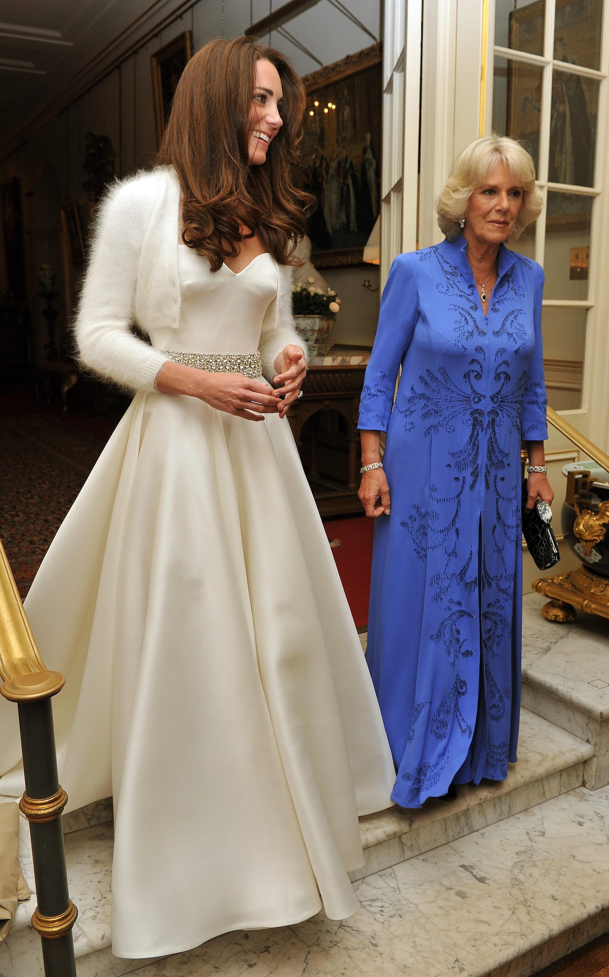 Il secondo vestito di Kate Middleton, sempre firmato Alexander McQueen