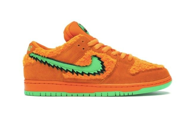 Nike SB Dunk LowGrateful Dead Bears Orange