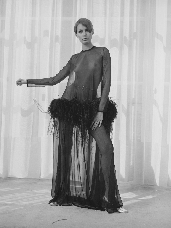 Un abito disegnato da Yves Saint Laurent nel 1968