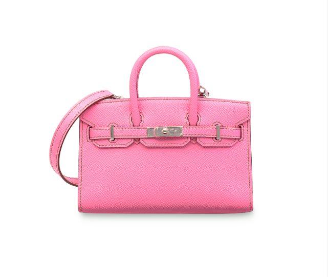 La mini Birkin in total pink