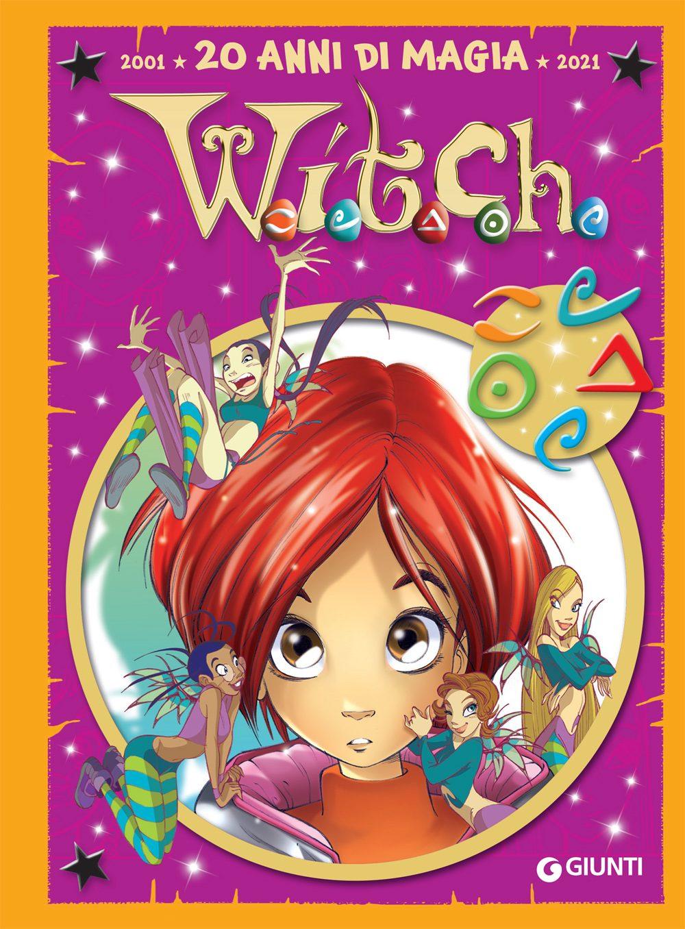 """La copertina dell'albo """"W.I.T.C.H 20 anni di magia"""""""