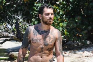 Andrea Cerioli, tutti i tatuaggi del naufrago a L'isola dei famosi
