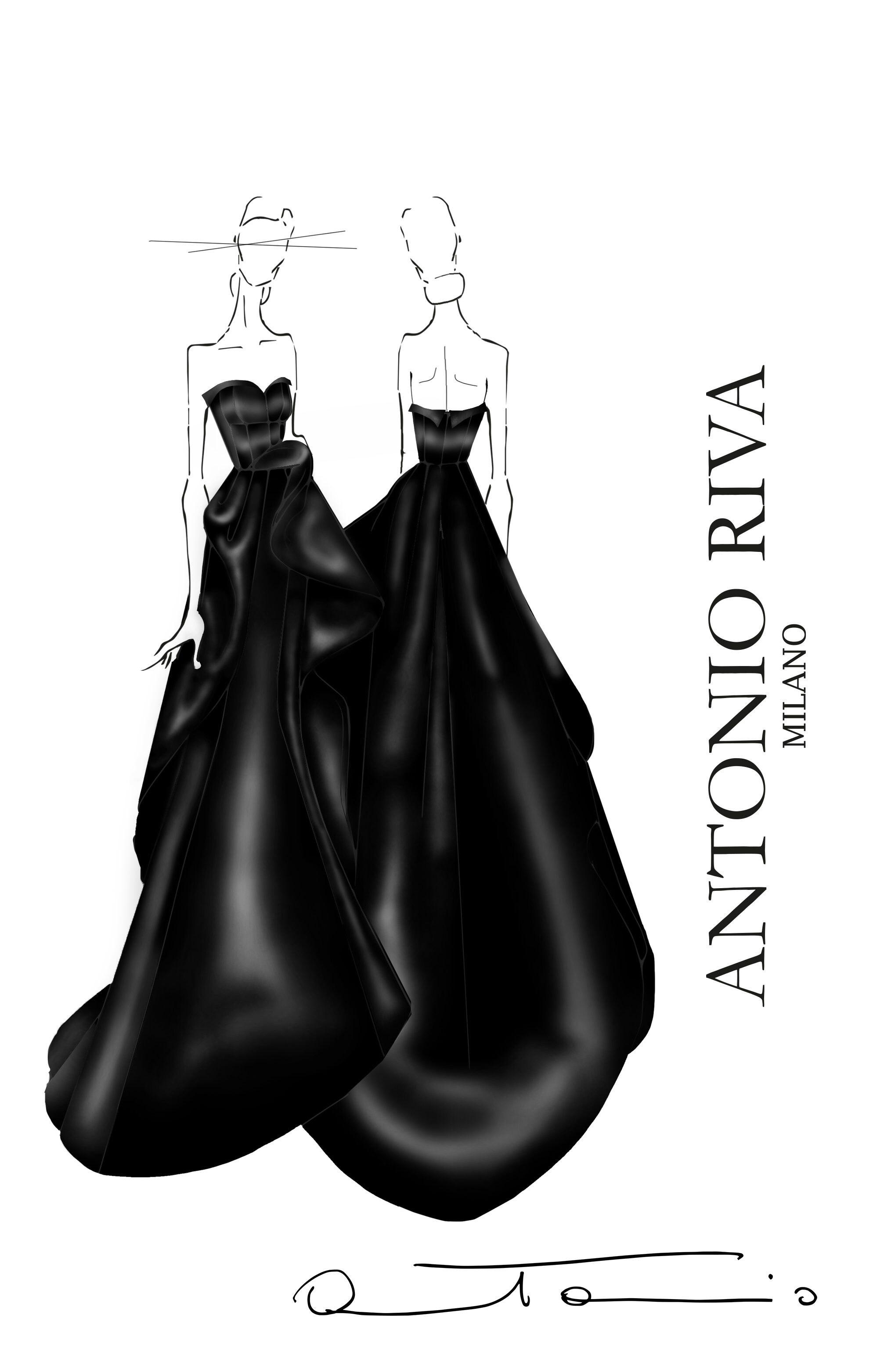 abito di Antonio Riva