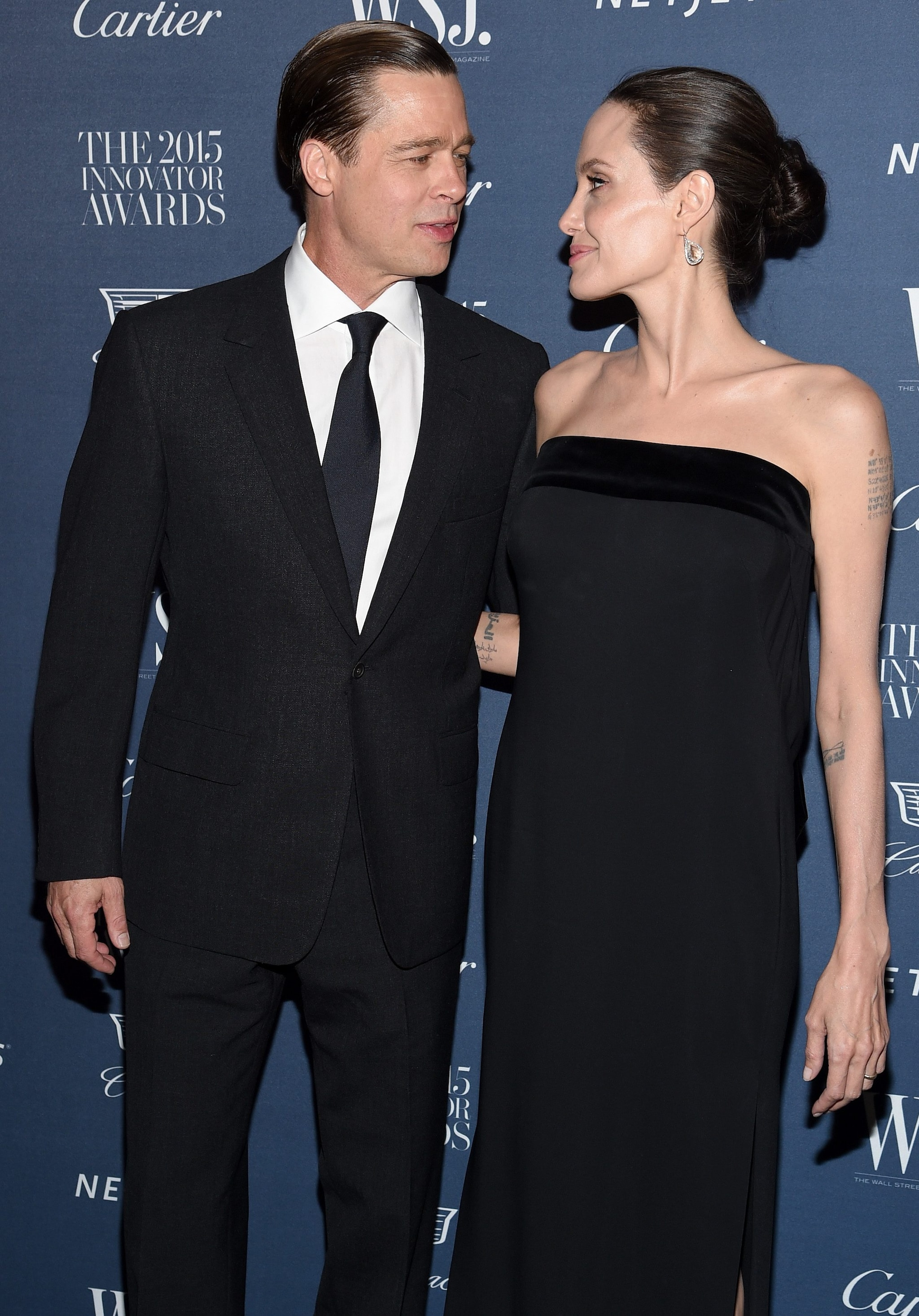 Brad Pitt e Angelina Jolie nel 2015