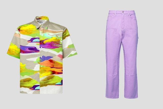 Camicia e pantaloni MSGM