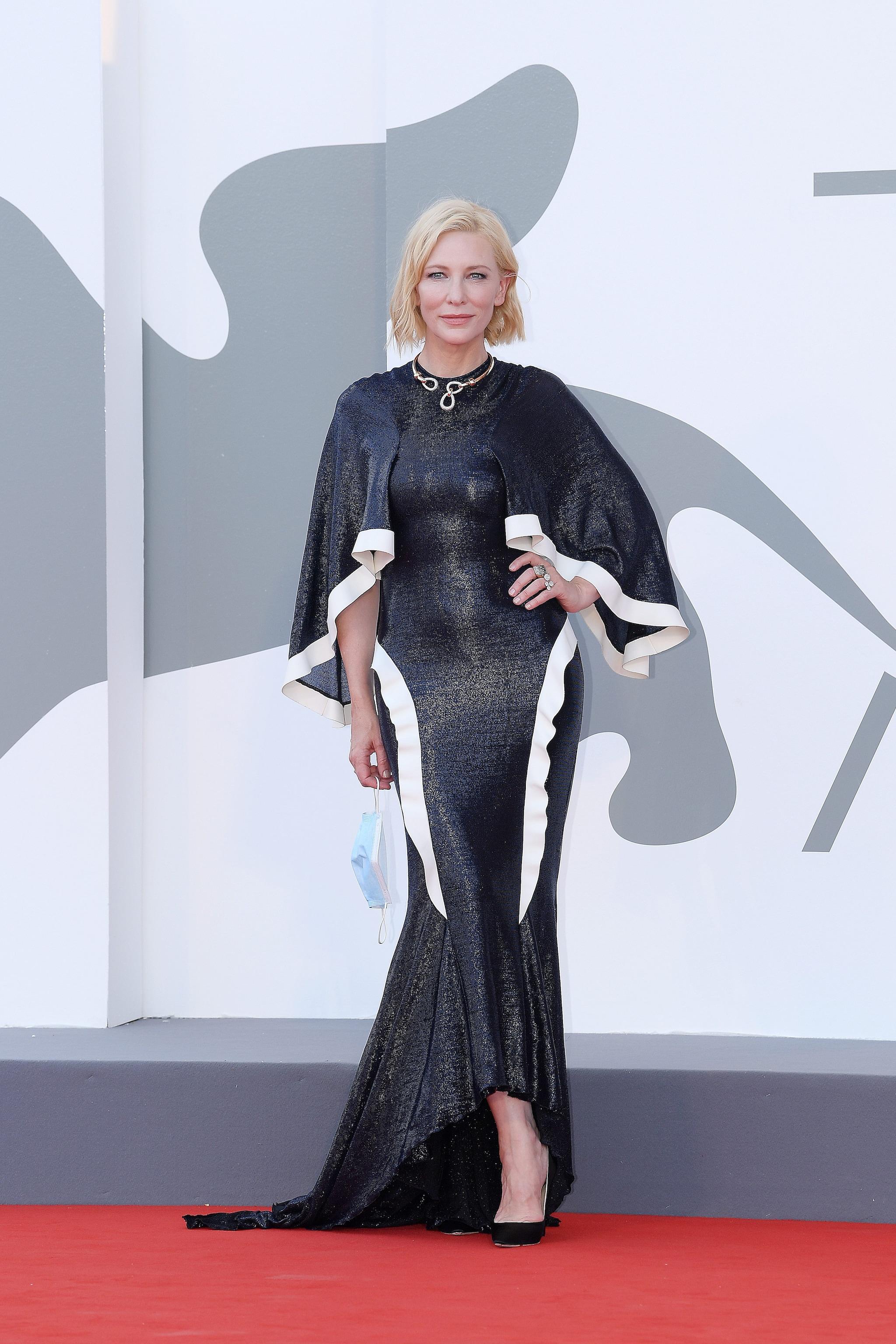 Cate Blanchett in Esteban Cortazar a Venezia 2020