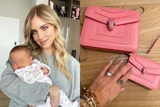 Prima borsa di lusso per Vittoria: la figlia di Chiara Ferragni ha la bag rosa coordinata con la mamma