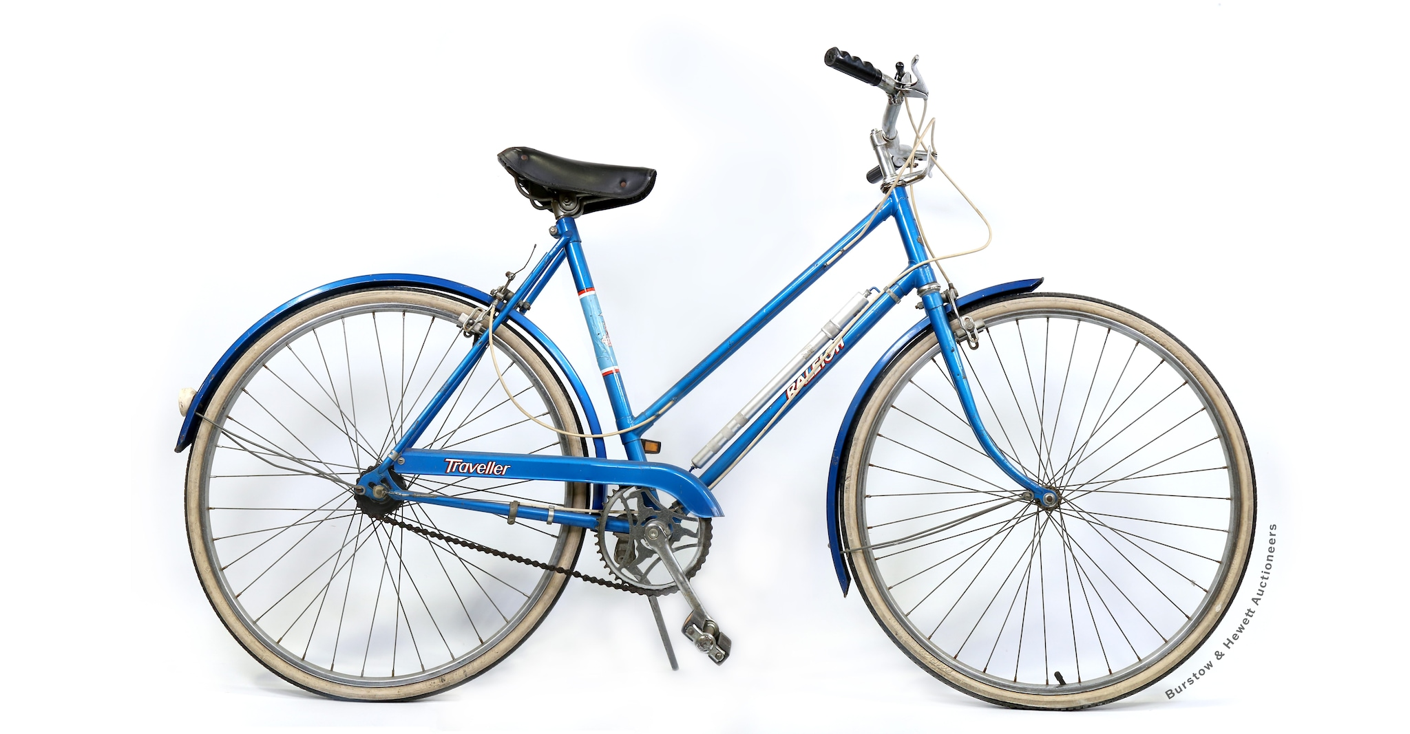 La Raleigh Traveller blu di Lady Diana