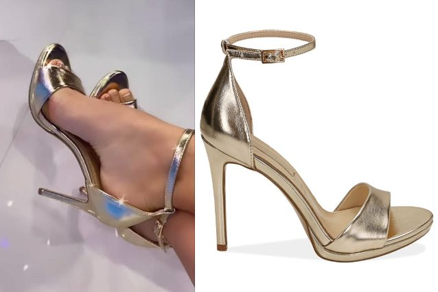 I sandali low–cost di Elettra Lamborghini