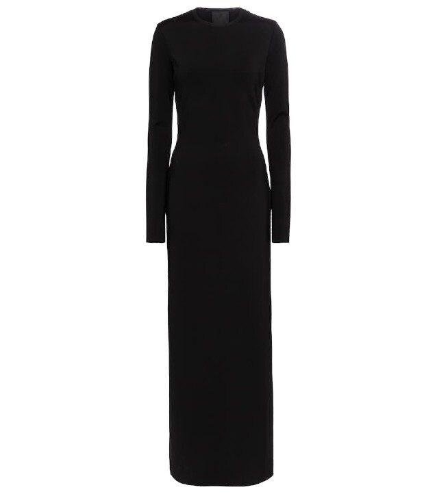 L'abito nero di Givenchy