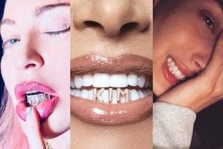 Grillz, i gioielli da denti amati dalle star: avere un sorriso scintillante è il trend del momento