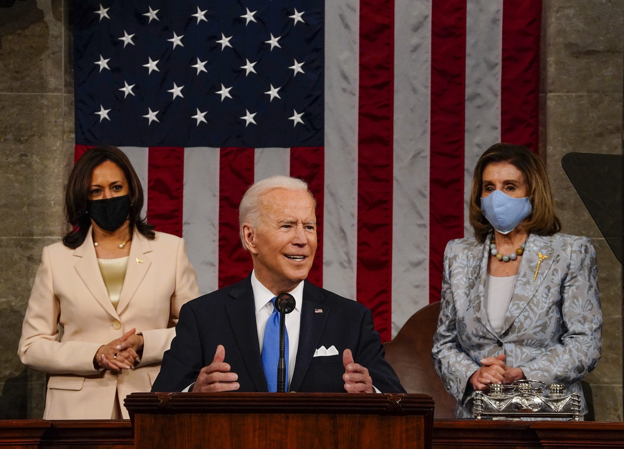 Kamala Harris, Nancy Pelosi, Joe Biden