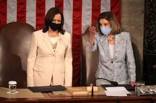Al Congresso si fa la storia: per la prima volta sono due donne ad accompagnare il Presidente USA