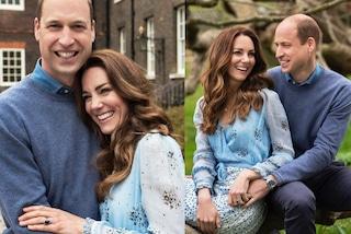 Kate Middleton, l'anniversario di nozze è con abito riciclato e diamanti da oltre 10mila euro