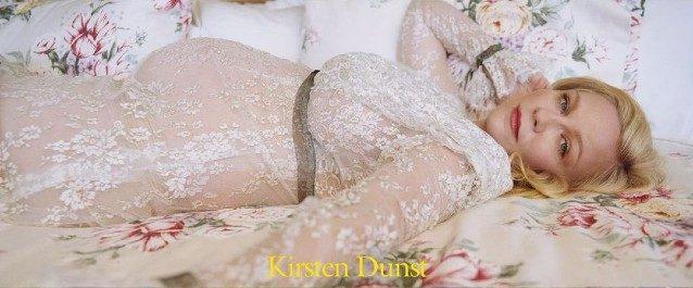 Kirsten Dunst con l'abito Rodarte