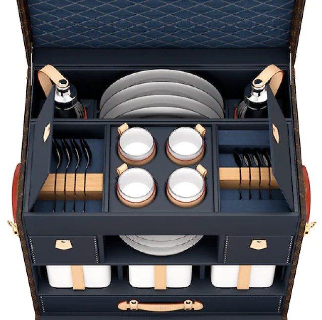 Il baule da picnic di Louis Vuitton