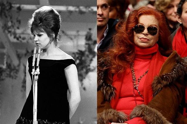 Milva nel 1961 e nel 2011