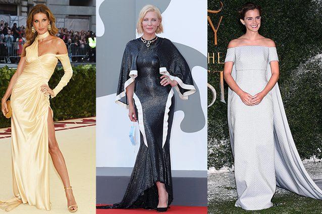 Gisele Bündchen, Cate Blanchett, Emma Watson