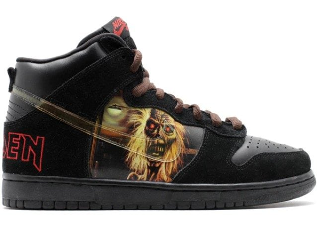 Nike SB Dunk High Iron Maden