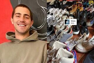 Tutte le scarpe di Tommaso Zorzi: tra sneakers e mocassini ne ha quasi 100 paia