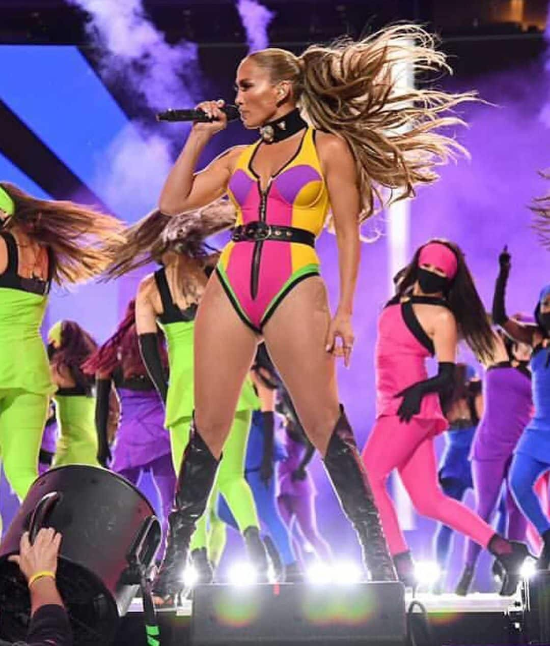 La ponytail di J.Lo