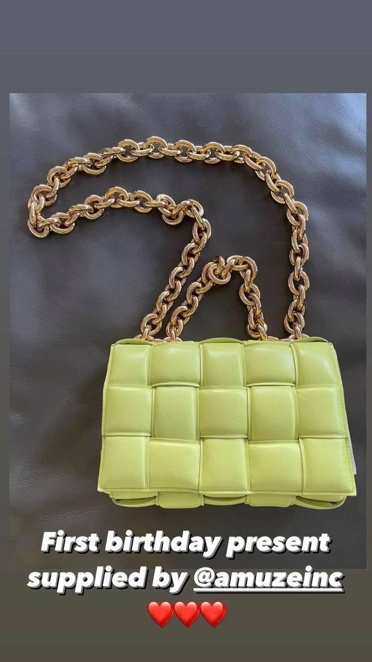 La borsa di Bottega Veneta
