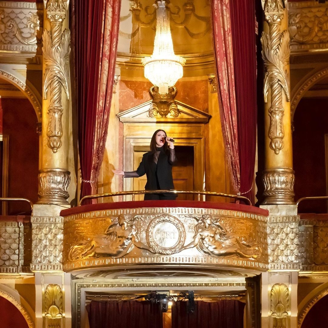 L'esibizione al Teatro dell'Opera di Roma