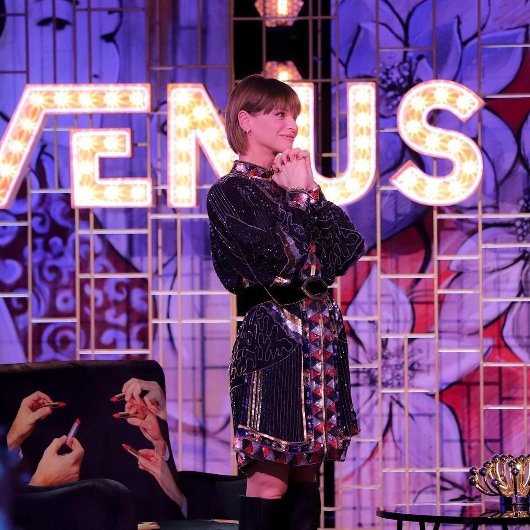 Alessandra Amoroso in Etro a Venus Club