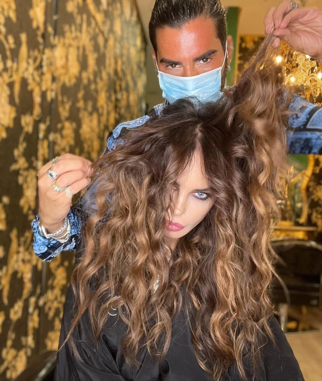 Nina Moric con Federico Fashion Style