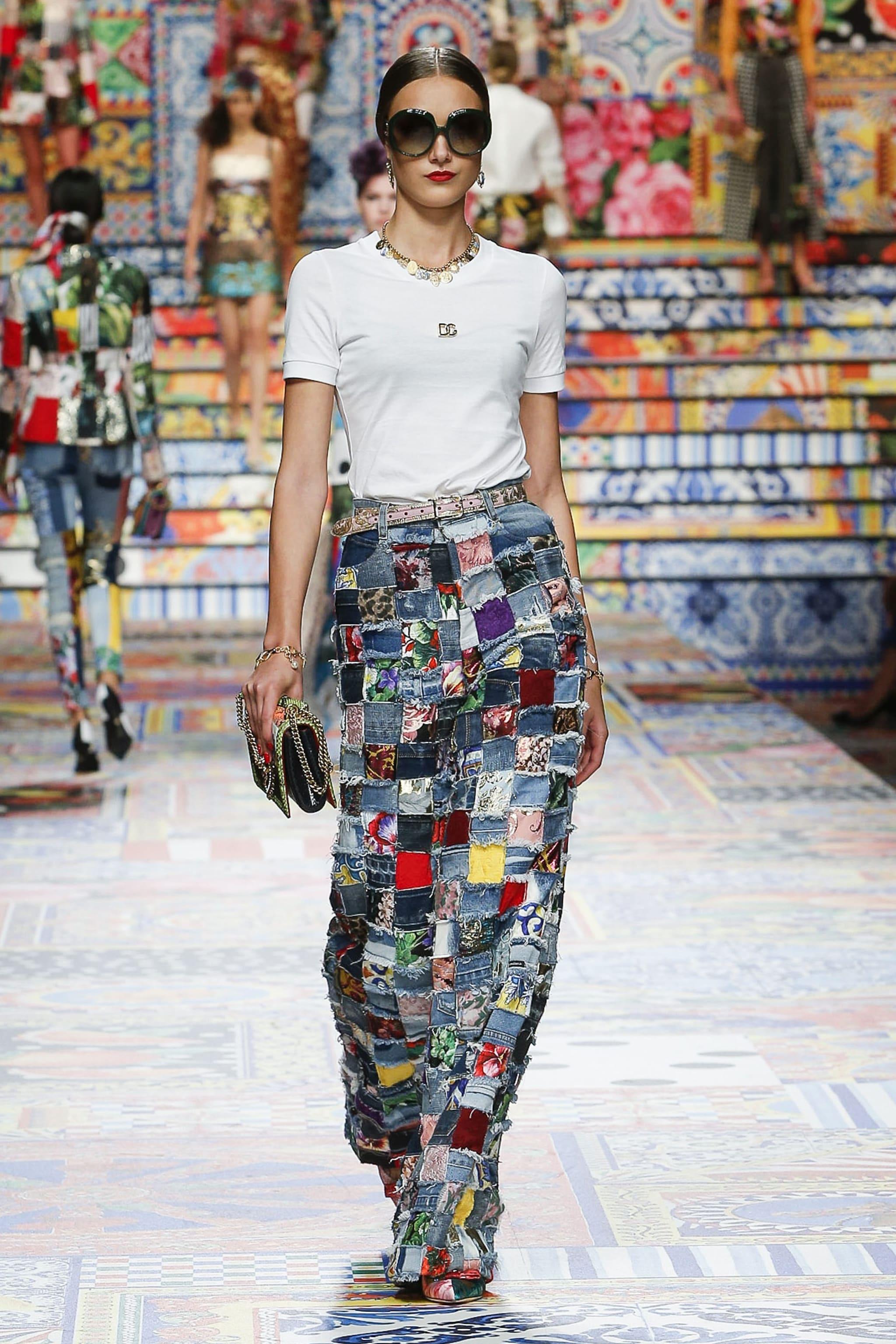la sfilata Primavera/Estate 2021 di Dolce&Gabbana