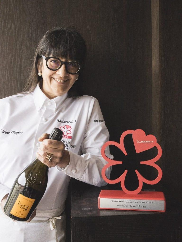 La chef Isa Mazzocchi vince il premio Michelin Chef Donna 2021