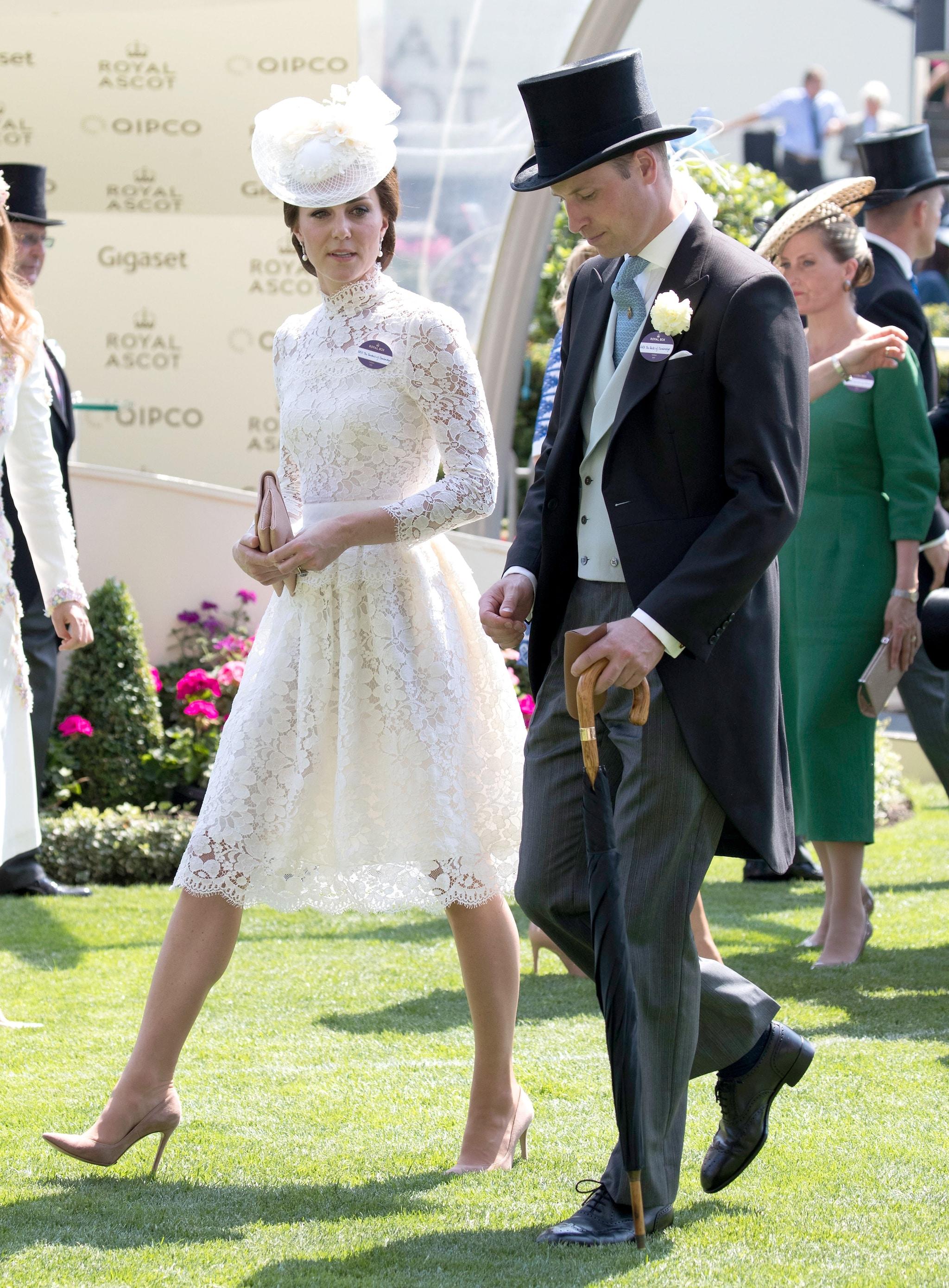 Kate e William al Royal Ascot nel 2017